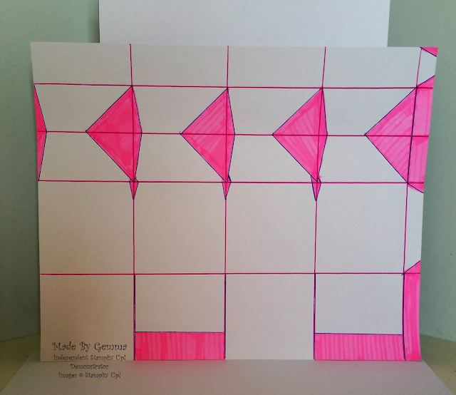 Gift box cutting plan and template