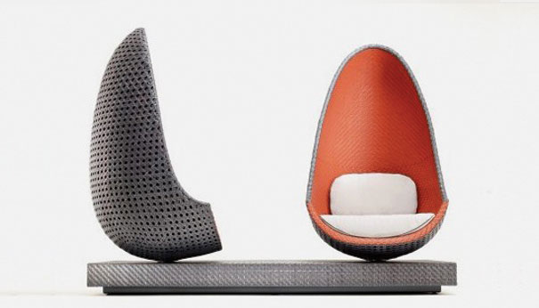 Swivel Chair And A Half Chairs With Storage In Seat Nami Interiors: New Versions Of The Egg
