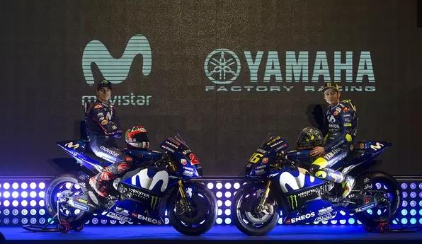 AGEN BOLA - Yamaha Perkenalkan Motor Rossi Dan Vinales Untuk MotoGP 2018
