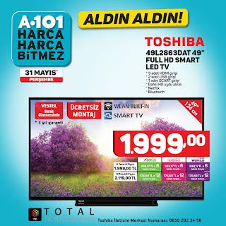 ALDIN ALDIN A101 haziran AYI indirim KAMPANYALAR AKTuEL KATALOgU smart led tv