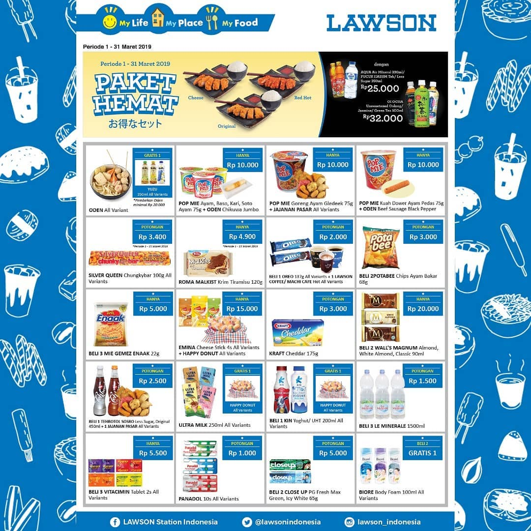 #Lawson - #Promo #Katalog Paket Hemat Periode 01 - 31 Maret 2019