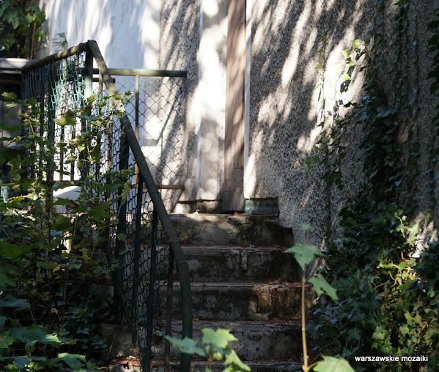 schody Warszawa Warsaw osiedla spółdzielnie Stare Bielany architektura