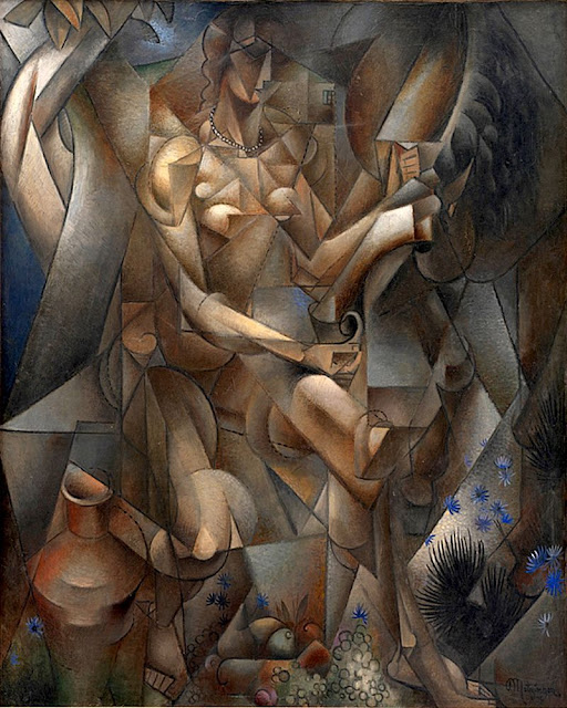 La Femme Au Cheval,(Woman with a horse), 1911-1912, Jean Metzinger_psartworks.in