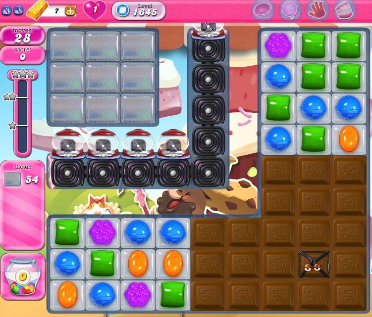 Candy Crush Saga 1645