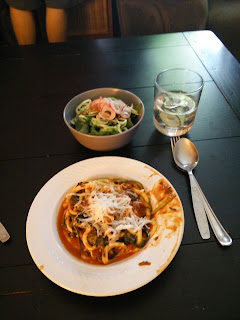 A spiralized dinner
