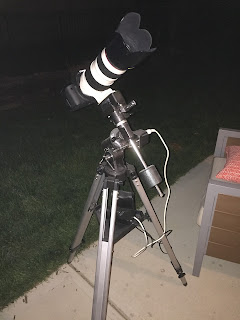 canon 70-200 on telescope mount
