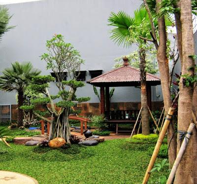 Taman Modern Minimalis - Tukang Taman Surabaya