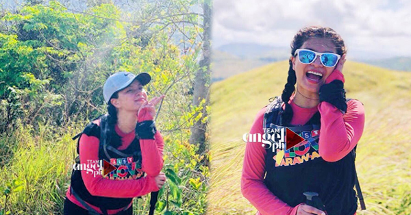 Never Before Seen Photos Of Angel Locsin At The Summer Station ID Of ABS-CBN