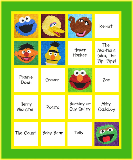 Such a Sew and Sew: Bert and Ernie, Can You Tell Me How to Get to Sesame Street?