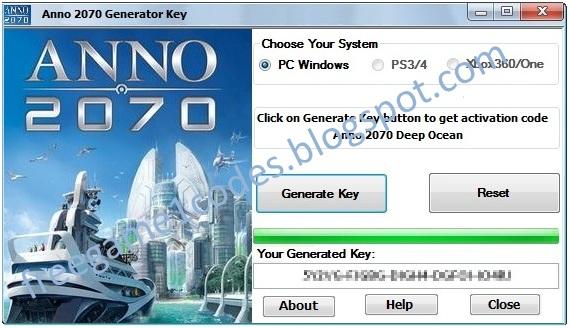 anno 2070 activation key generator