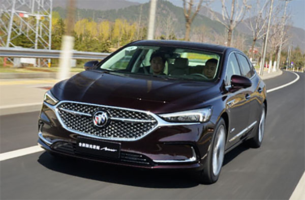 Burlappcar Just A Few More Pictures Of The 2020 Buick Lacrosse For