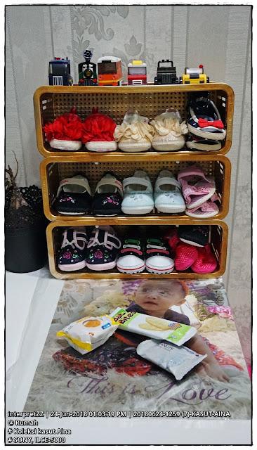gambar koleksi kasut kanak-kanak perempuan berumur 1 tahun Malaysia