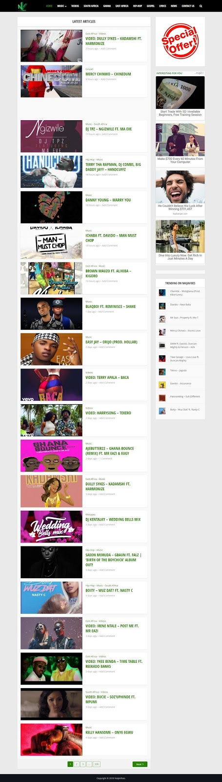 best free music download sites in south africa