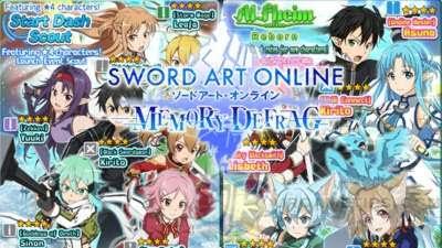 Sword Art Online: MD - Best 4-Star Characters Tier List - Rank SS