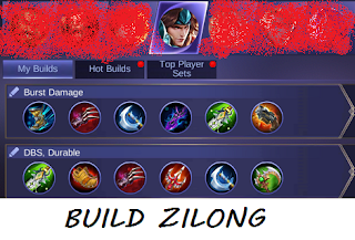 Build Gear Zilong Tersakit