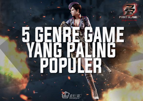 5 Genre Game Yang Paling Populer