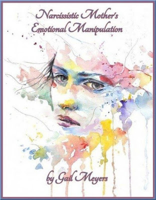 Narcissistic Mother's Emotional Manipulation by Gail Meyers Watercolors drawing running female face CCO via Pixabay