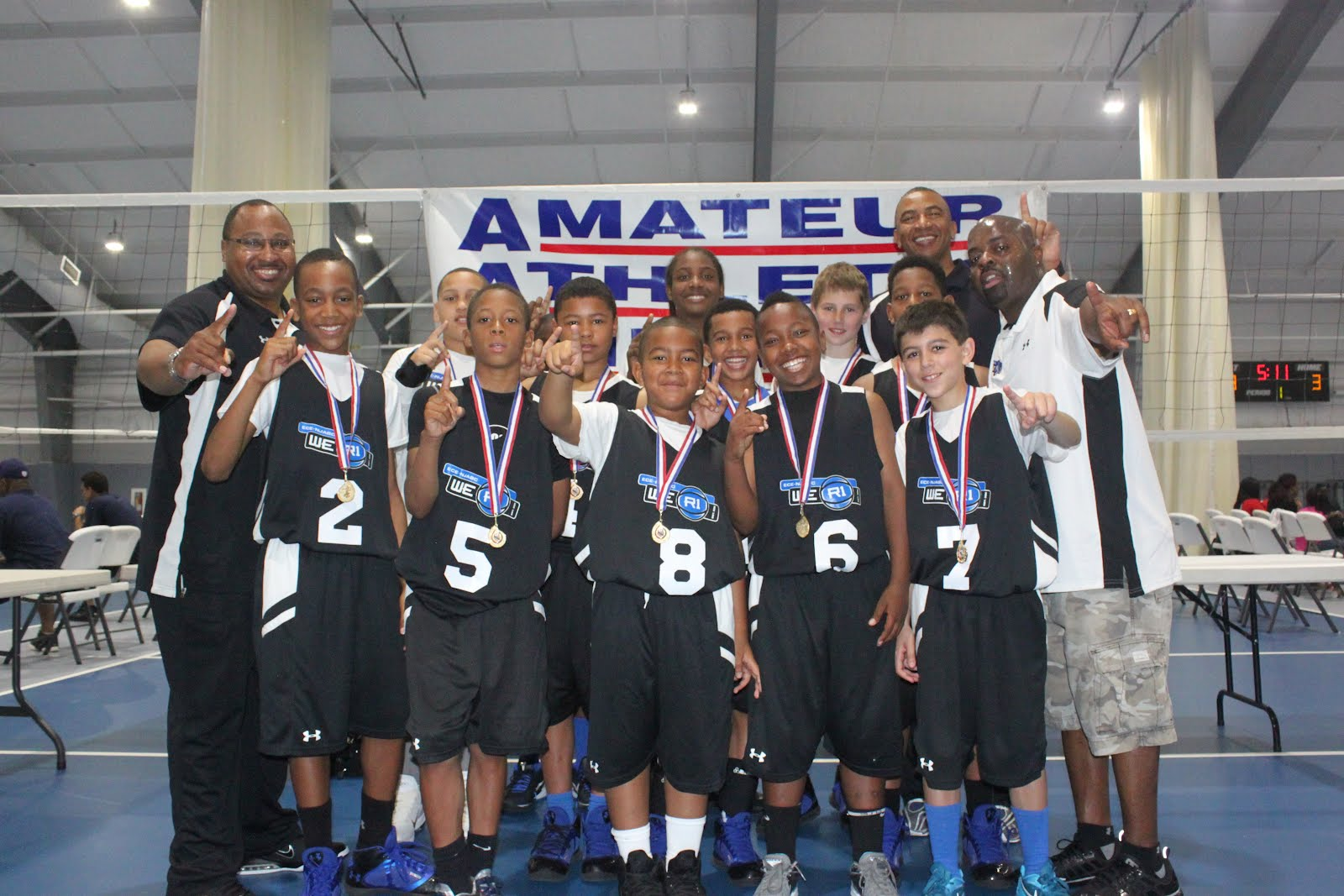 be5563813cef BASKETBALL SPOTLIGHT NEWS  Mid Atlanic 11U Championship Recap  ECE ...
