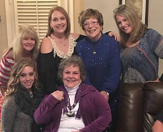 Nina Stephenson with Betty & family