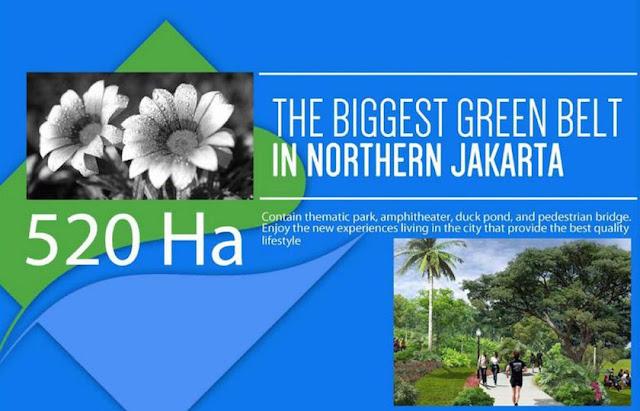 520 ha green belt @ PIK 2 Jakarta Utara