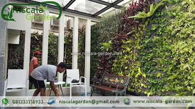 Tukang Taman Vertikal Surabaya