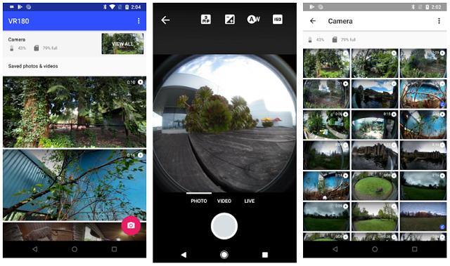 ac57d67cf أحد التطبيقات الجديدة لشركة قوقل، وهو خاص لمن يمتلك كاميرا تصوير بتقنية  الواقع الافتراضي 180 درجة، حيث عبر هذا التطبيق يمكن التحكم بإعدادات  الكاميرا عبر ...