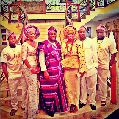 sharon adeleke traditional wedding