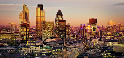 London England Cityscape View
