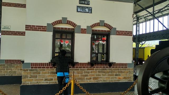 loket museum ambarawa