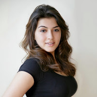 Hansika new photoshoot black top for magzine