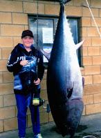História de Pescador, Pescaria, Peixes, No de Pesca,  Atum Bluefin