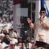 Gelora Bung Karno Memutih Tumpah Ruah Oleh Massa
