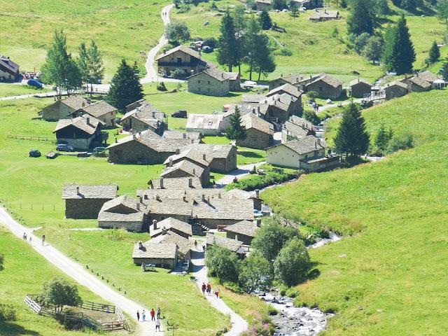 villaggio case di viso