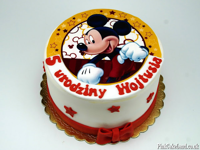 Mickey Mouse Cake London