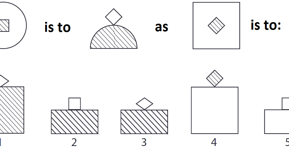 Brain Puzzlers: Which of the five figures complete this line?
