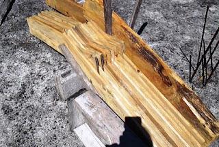 Secar madera de forma natural