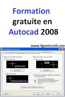formation d'autocad gratuit, formation d'autocad pdf, formation autocad en ligne gratuite, cours de base autocad complet débutant pdf en français,  cours d'initiation à autocad pdf,