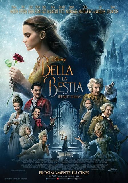 Cartel oficial español: La Bella y la Bestia (Beauty and the Beast) (2017)
