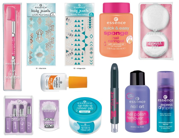 essence Auslistungen Herbst Winter 2017 Tools