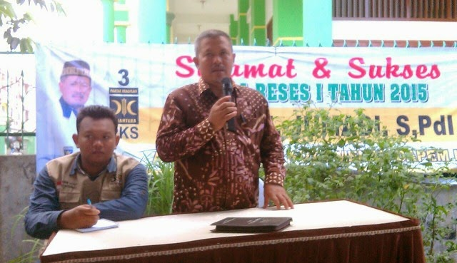 Reses H. Jumadi S.Pdi, Warga : Pak Wali, Jalan ke Kuburan Rusak