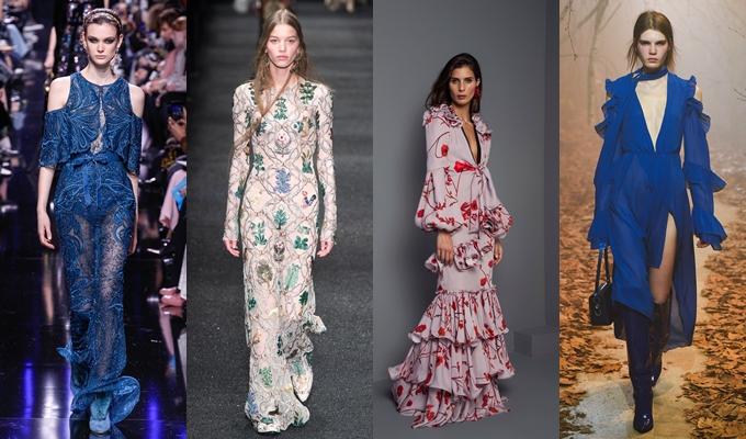 Best of Paris fashion week fall 2017-Elie Saab,Alexander McQueen,Johanna Ortiz,Off-white.Pariz nedelja mode za jesen zimu 2017 kolekcije.