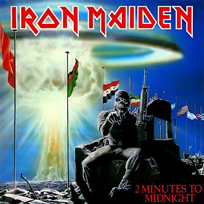 2 Minutes to Midnight EP εξώφυλλο των Iron Maiden