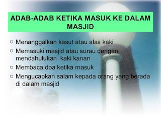 adab di masjid dan surau 3 638