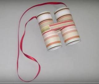 Manualidades con tubo de papel higiénico