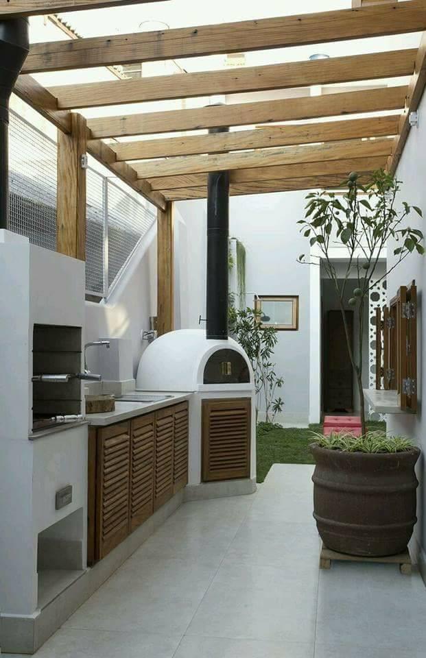 13 Desain Dapur Terbuka Halaman Belakang Rumah Gambar Desain 2017