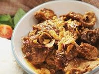 Semur daging Daging Malbi khas Palembang. Resep unik dan mantap
