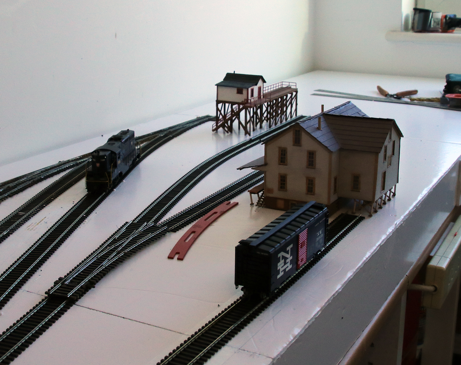 Sne Final Track Plan Model Railroad Hobbyist Magazine Wiring The Is Now Down Wired Up Had Turnout Motors Fitted And Everything Has Been Tested