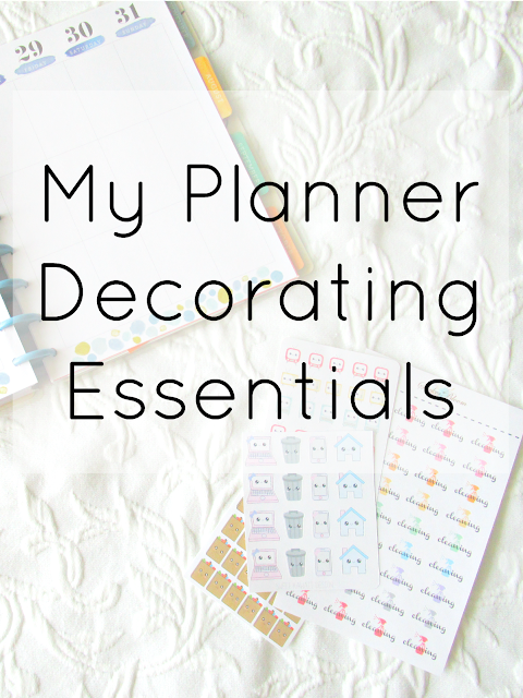 My Planner Decorating Essentials