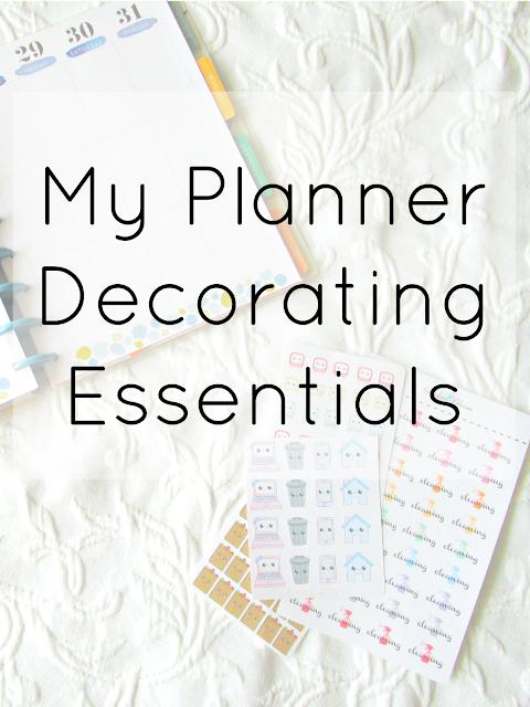 My Planner Decorating Essentials
