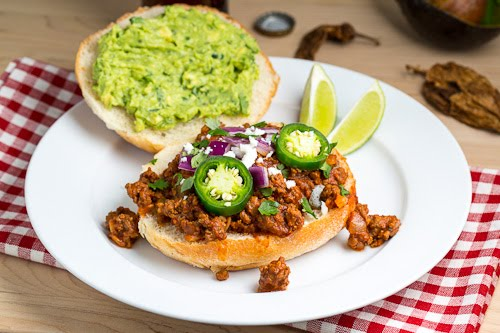 Texmex Sloppy Joes